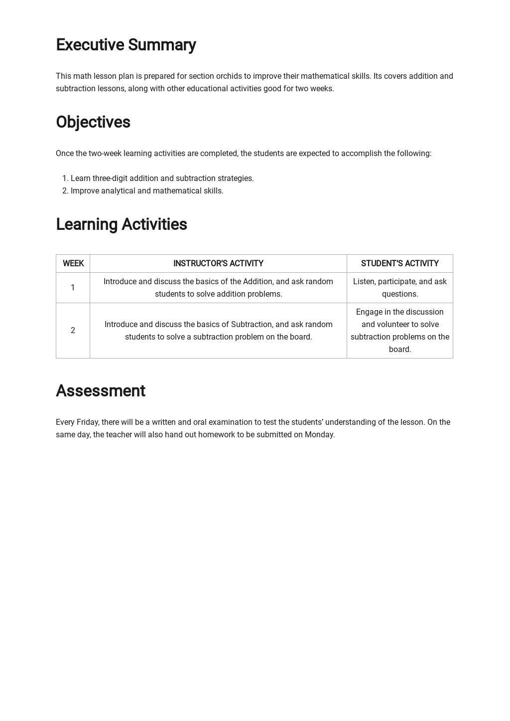Basic Math Lesson Plan Template 1.jpe