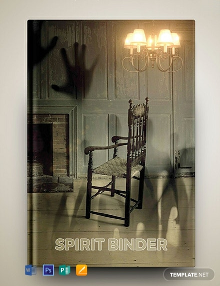 Free Scary Binder Cover Template