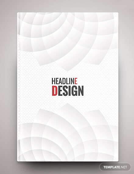 Free Elegant Binder Cover Template
