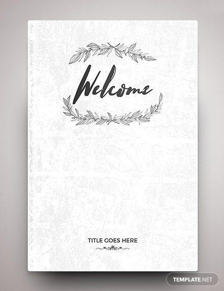 Free Editable Binder Cover Template