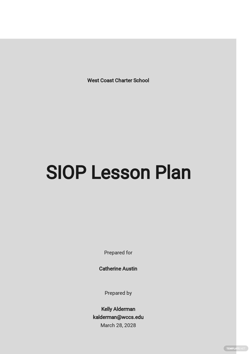 Blank SIOP Lesson Plan Template.jpe