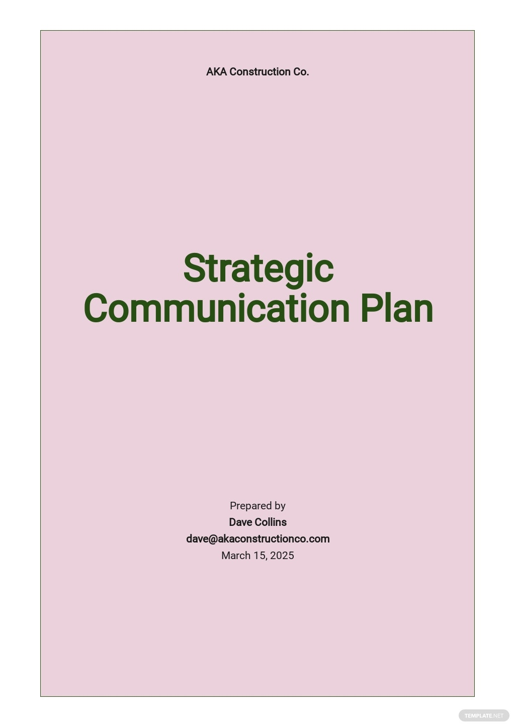 Strategic Planning Communication Plan Template.jpe