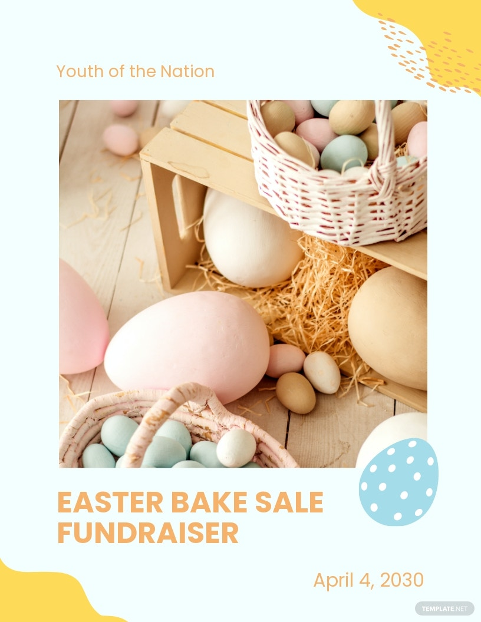 Easter Bake Sale Flyer Template.jpe