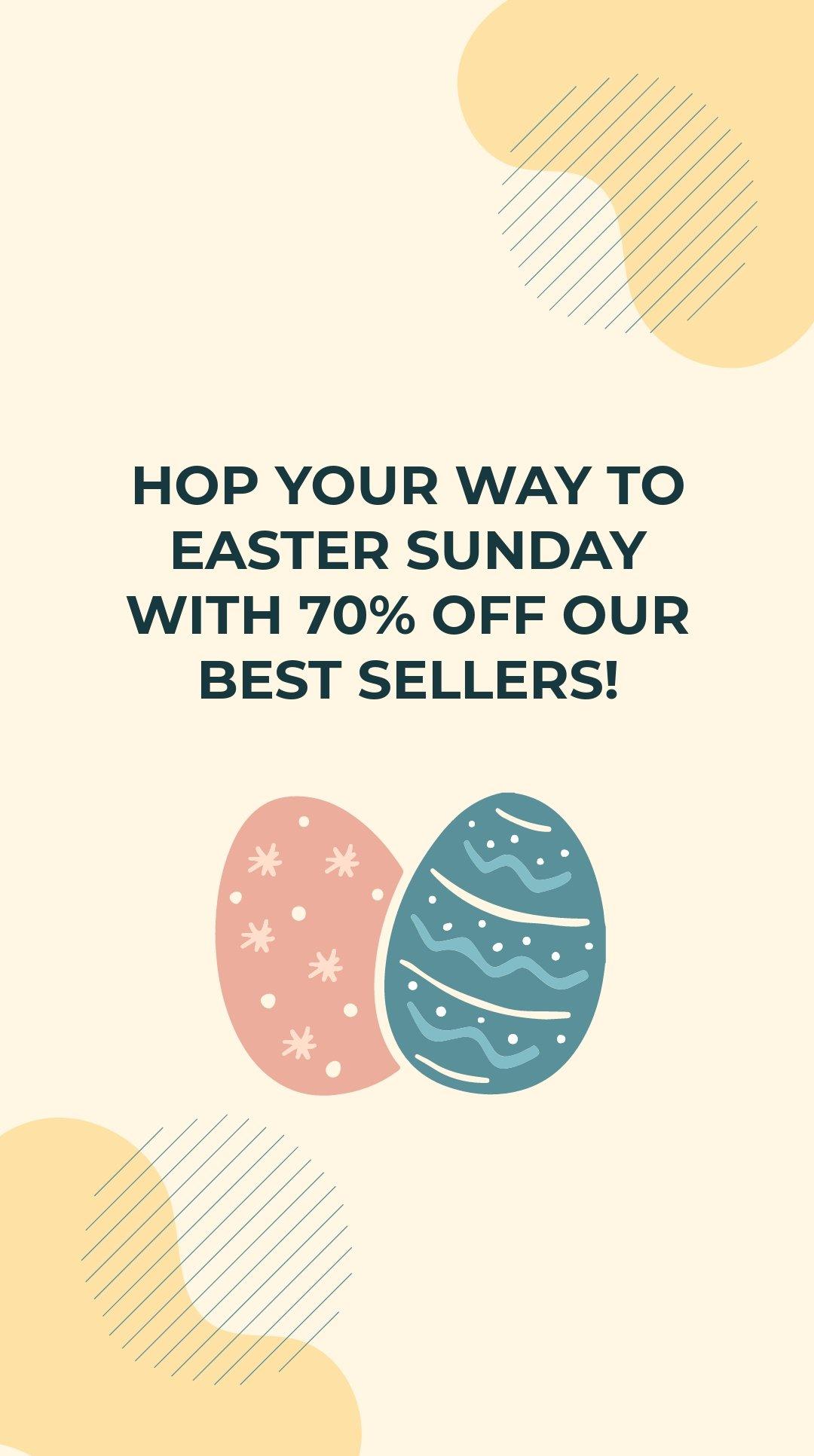 Easter Sale Instagram Story Template 2.jpe