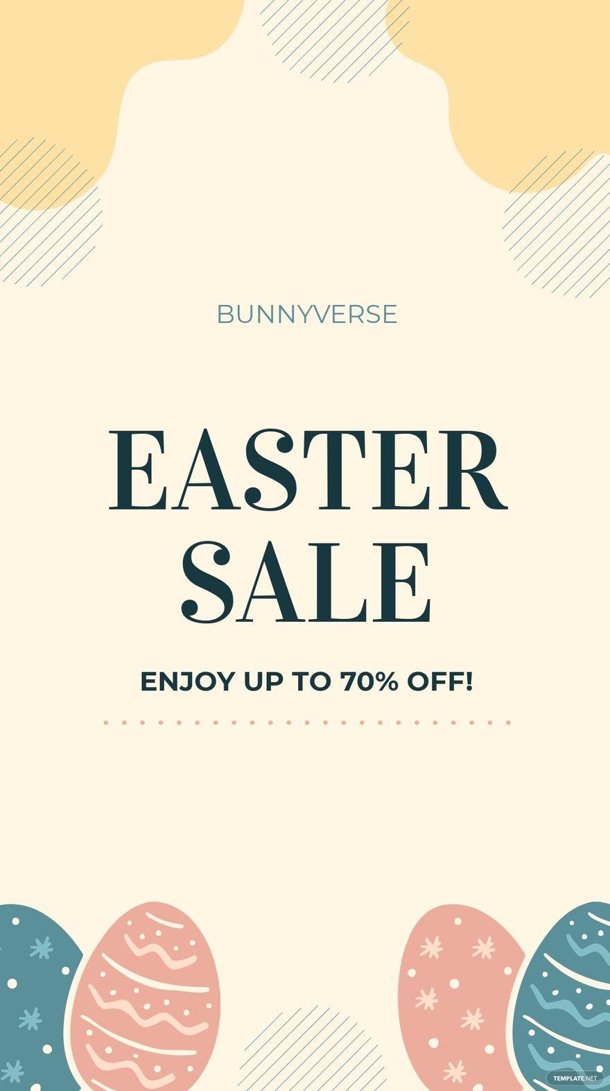 Easter Sale Instagram Story Template.jpe