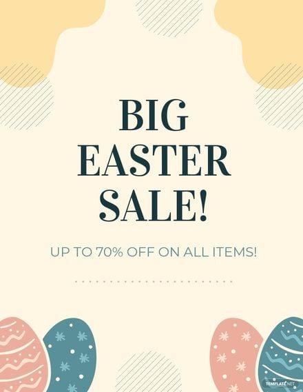 Easter Sale Flyer Template.jpe