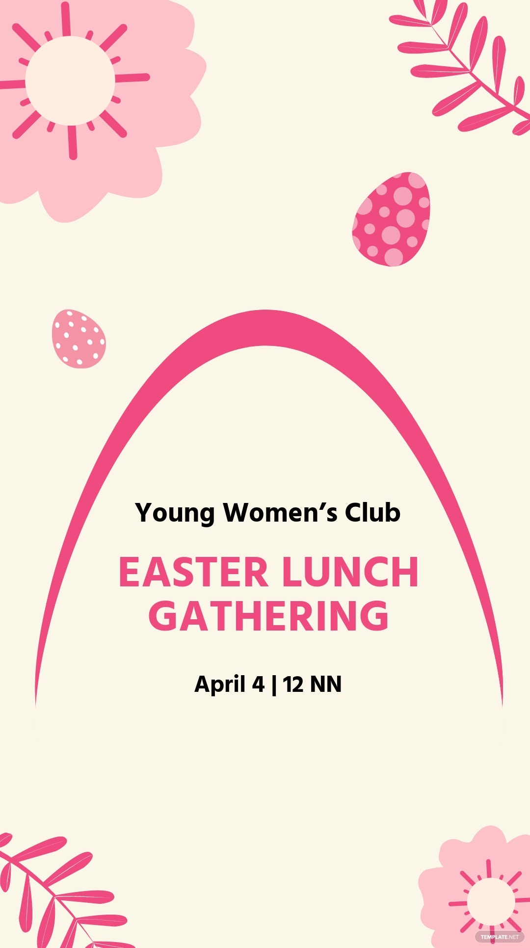 Easter Event Instagram Story Template.jpe