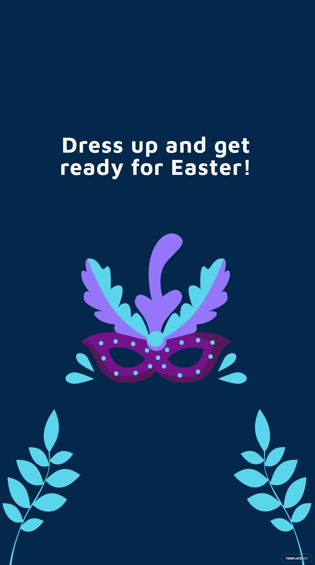 Easter Party Instagram Story Template 1.jpe