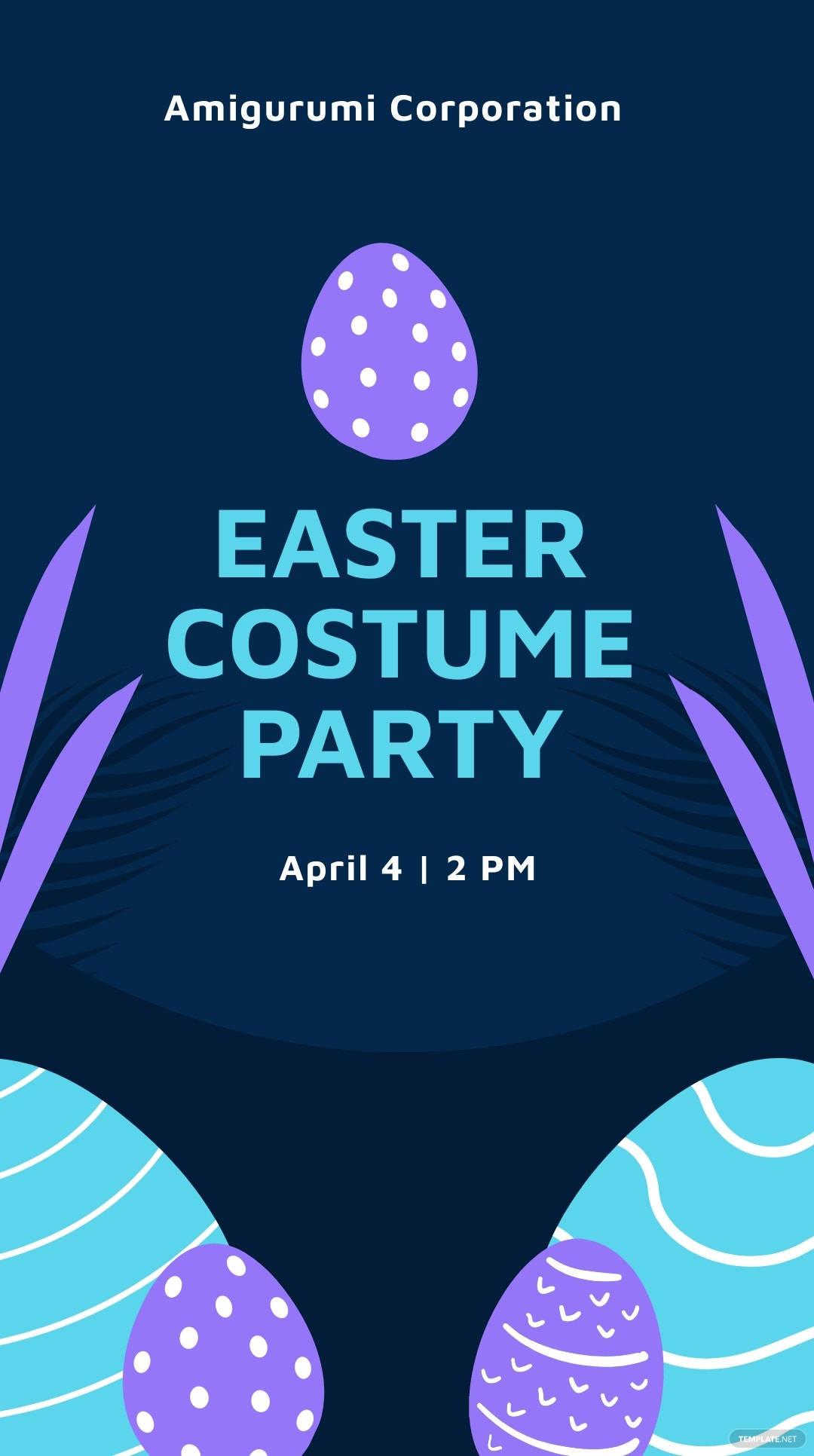 Easter Party Instagram Story Template.jpe