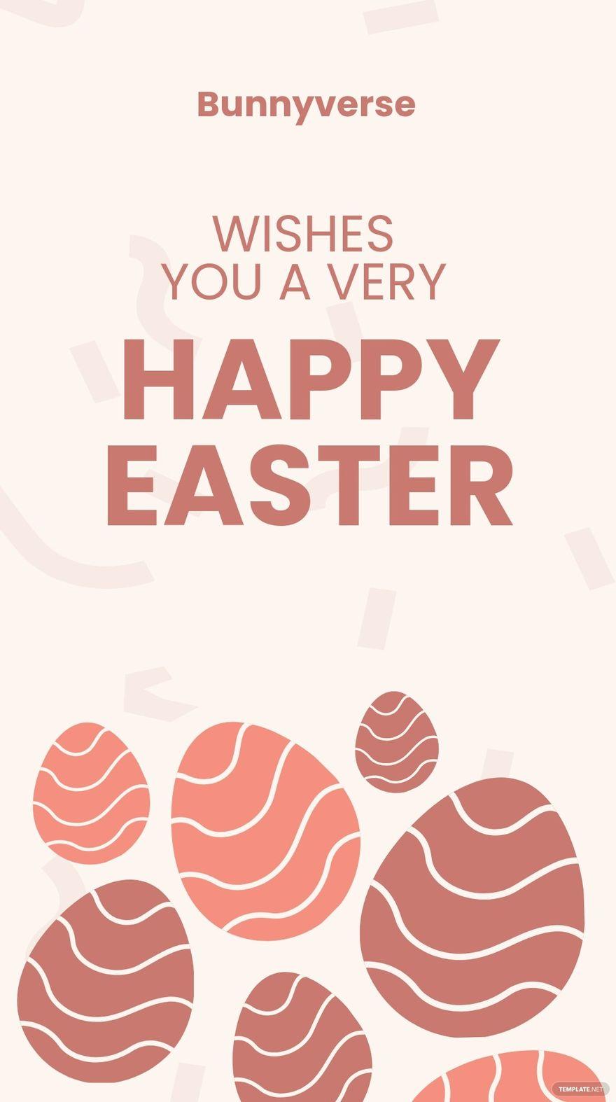 Happy Easter Instagram Story Template.jpe