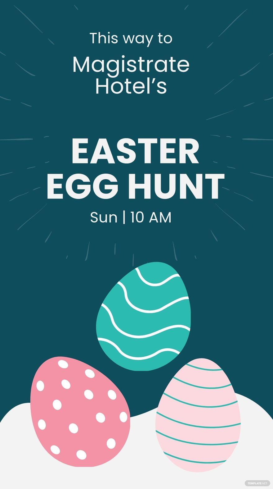 Easter Egg Hunt Whatsapp Post Template.jpe