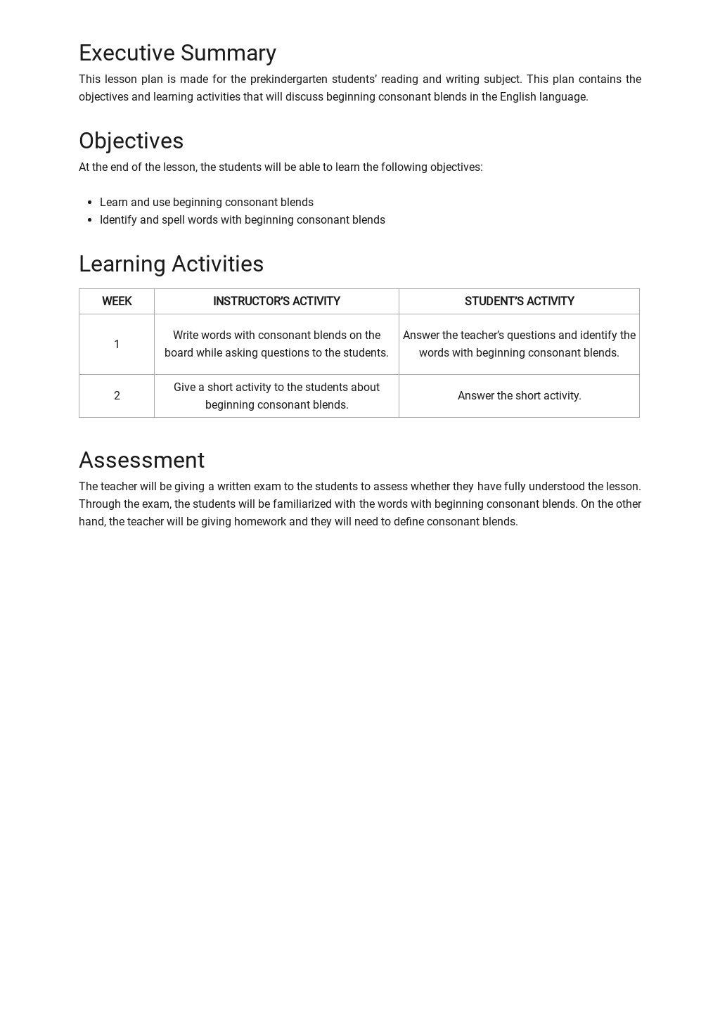Blank Pre K Lesson Plan Template 1.jpe