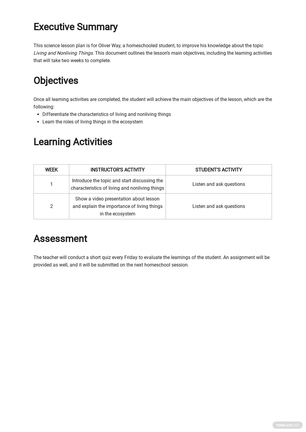 Homeschool Daily Student Lesson Plan Template 1.jpe