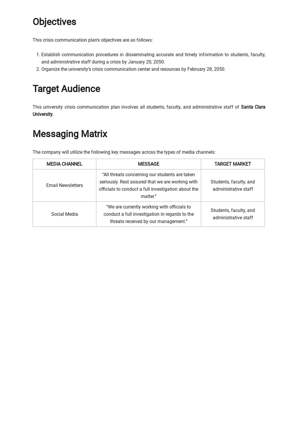 University Crisis Communication Plan Template 1.jpe