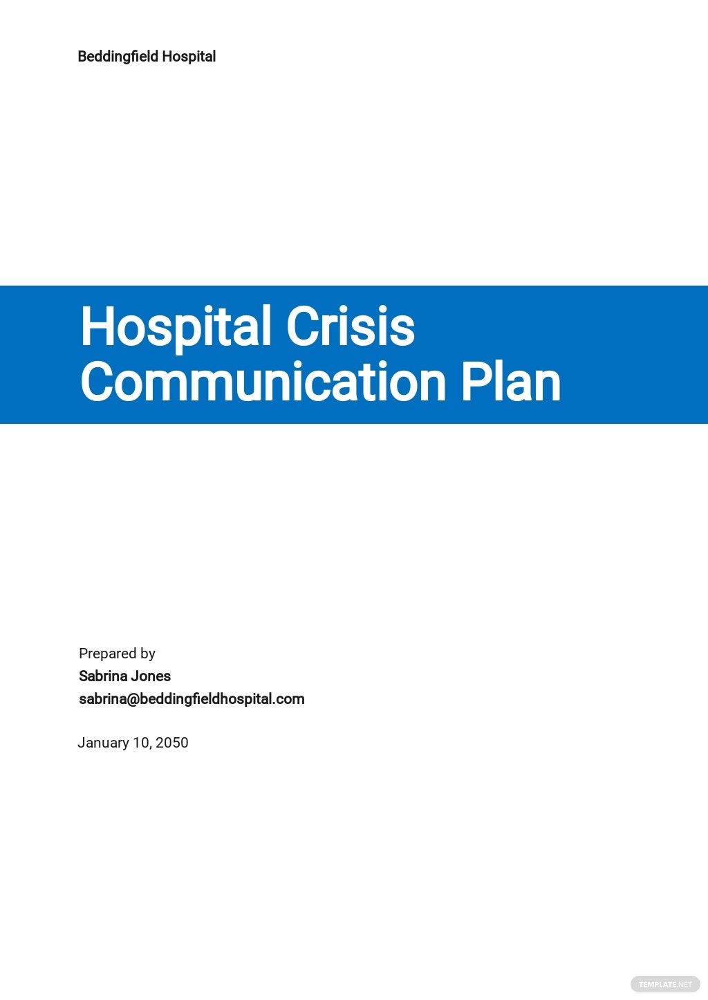 Hospital Crisis Communication Plan Template.jpe