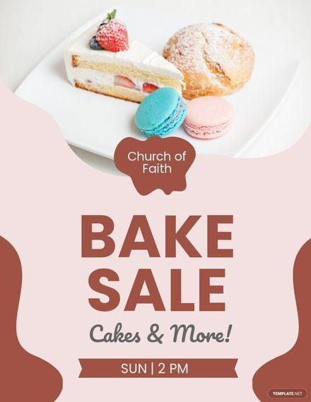 Church Bake Sale Flyer Template.jpe
