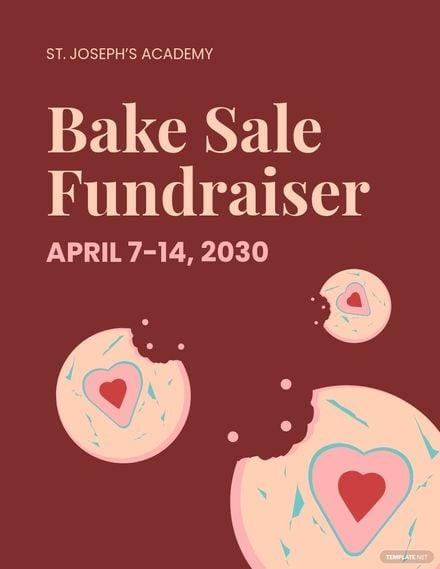 Bake Sale Fundraiser Flyer Template.jpe