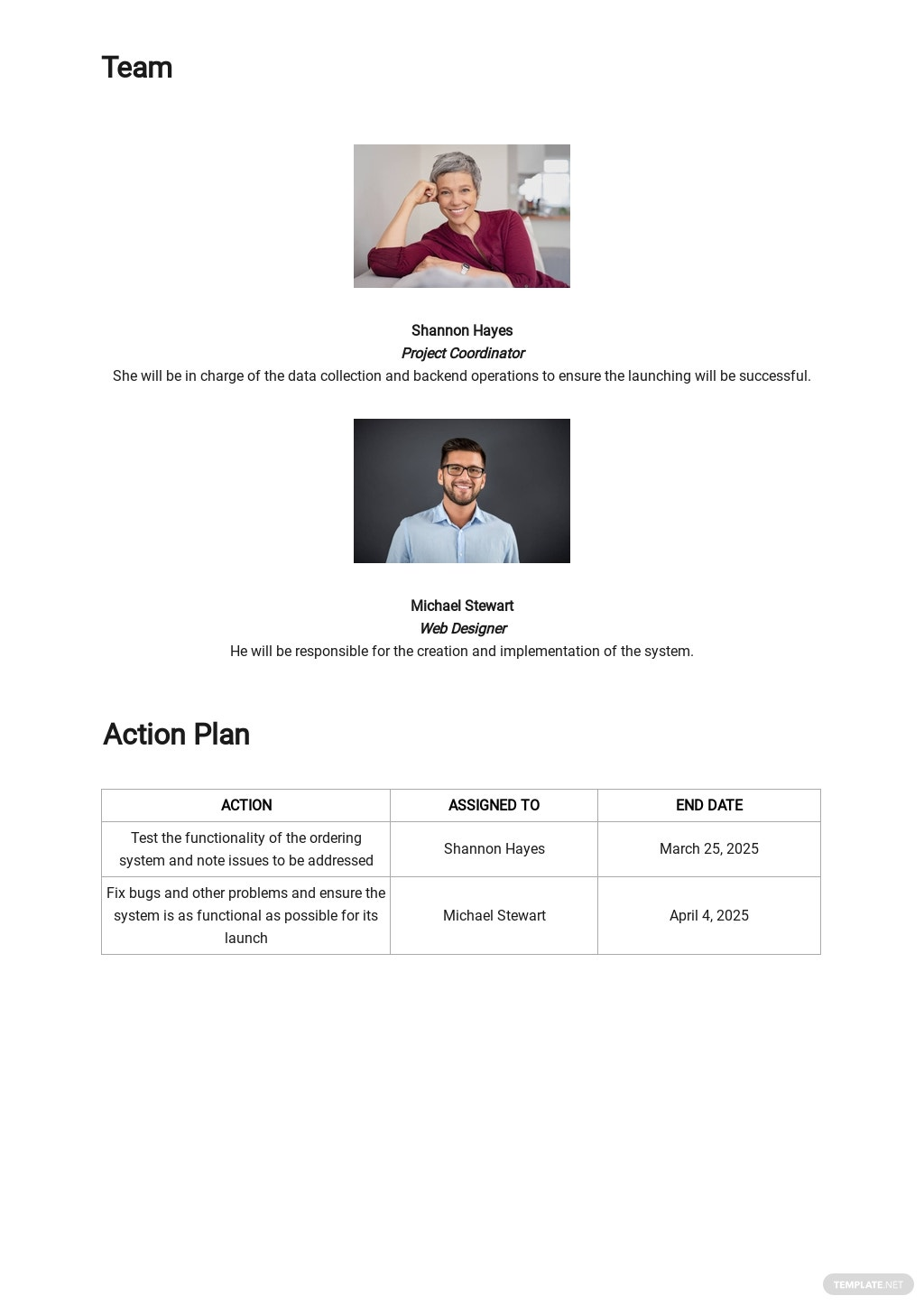 Sample Project Execution Plan Template 2.jpe