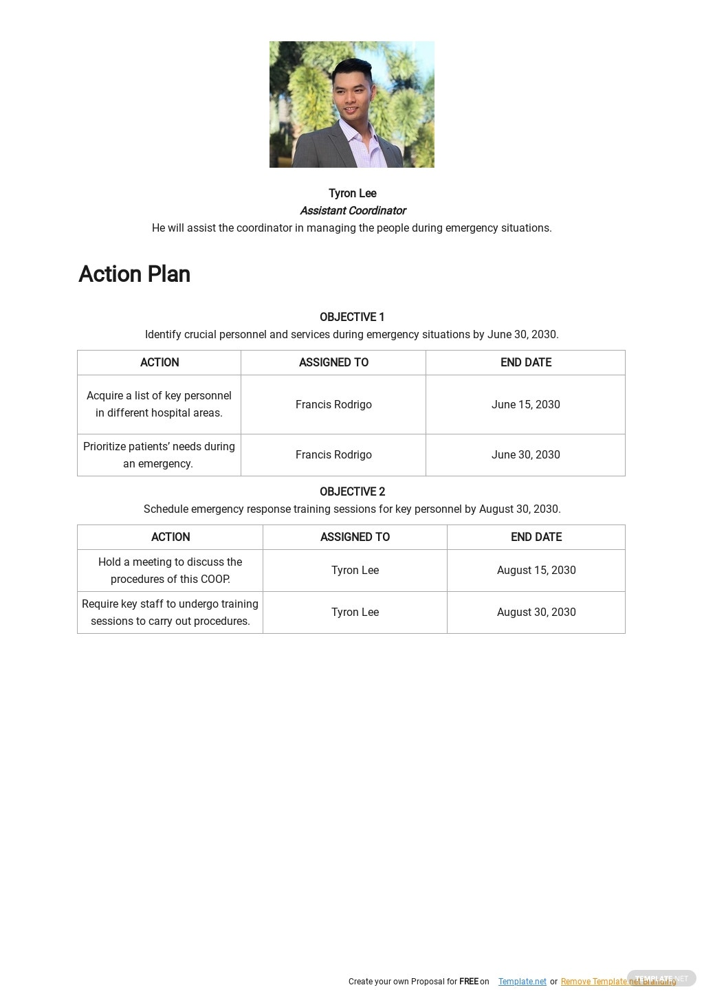 Hospital Continuity of Operations Plan Template 2.jpe