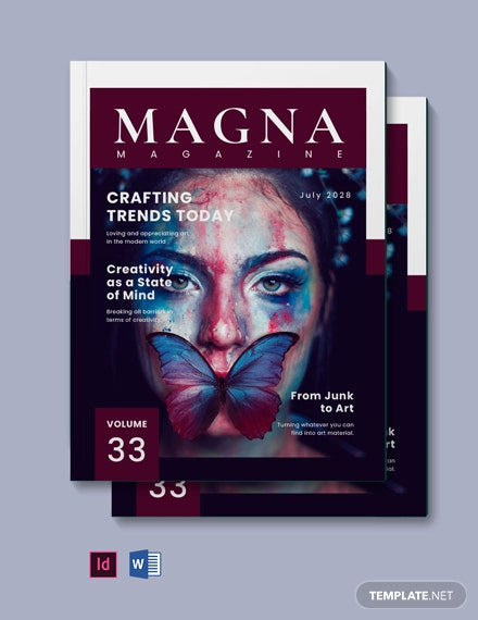 Creative Magazine Blogger Template