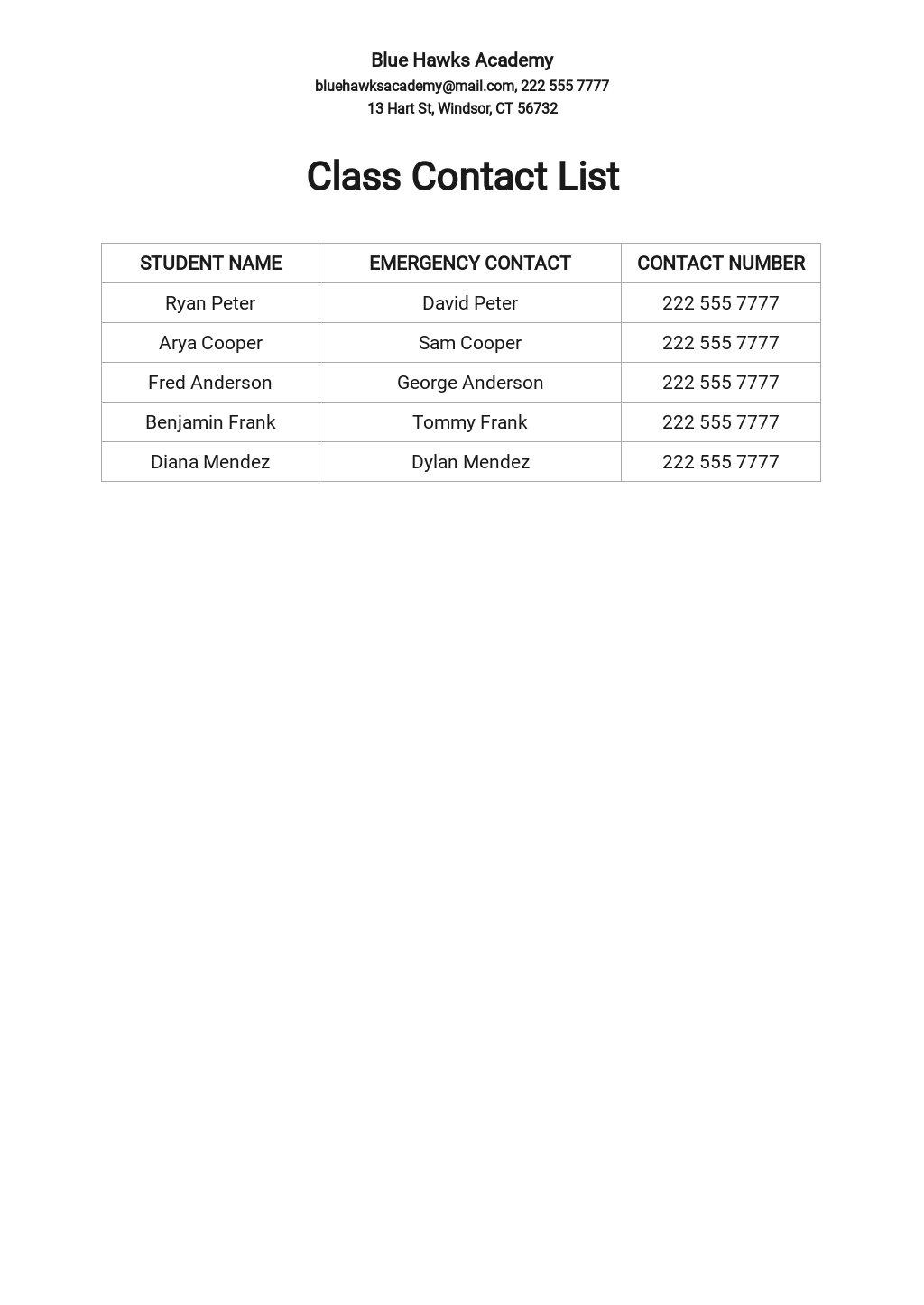 Class Contact List Template.jpe