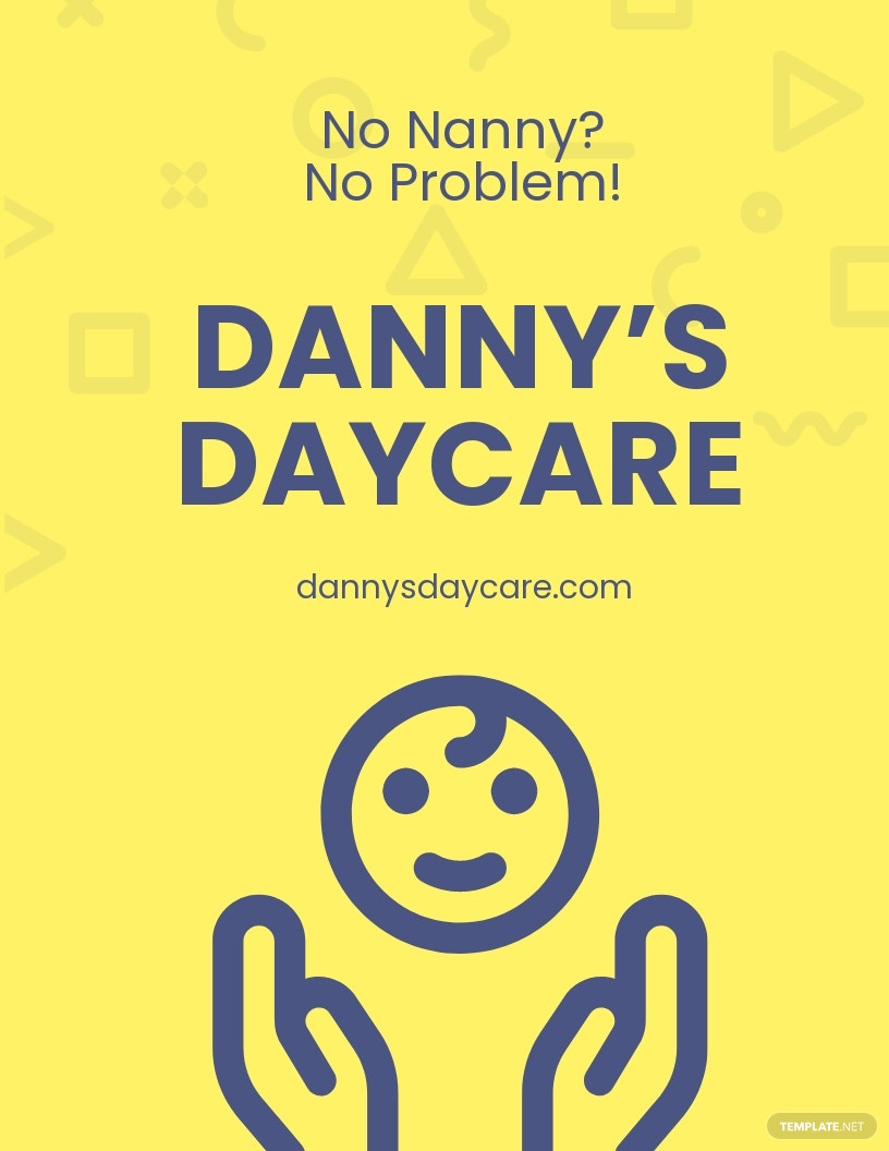 Daycare Services Flyer Template