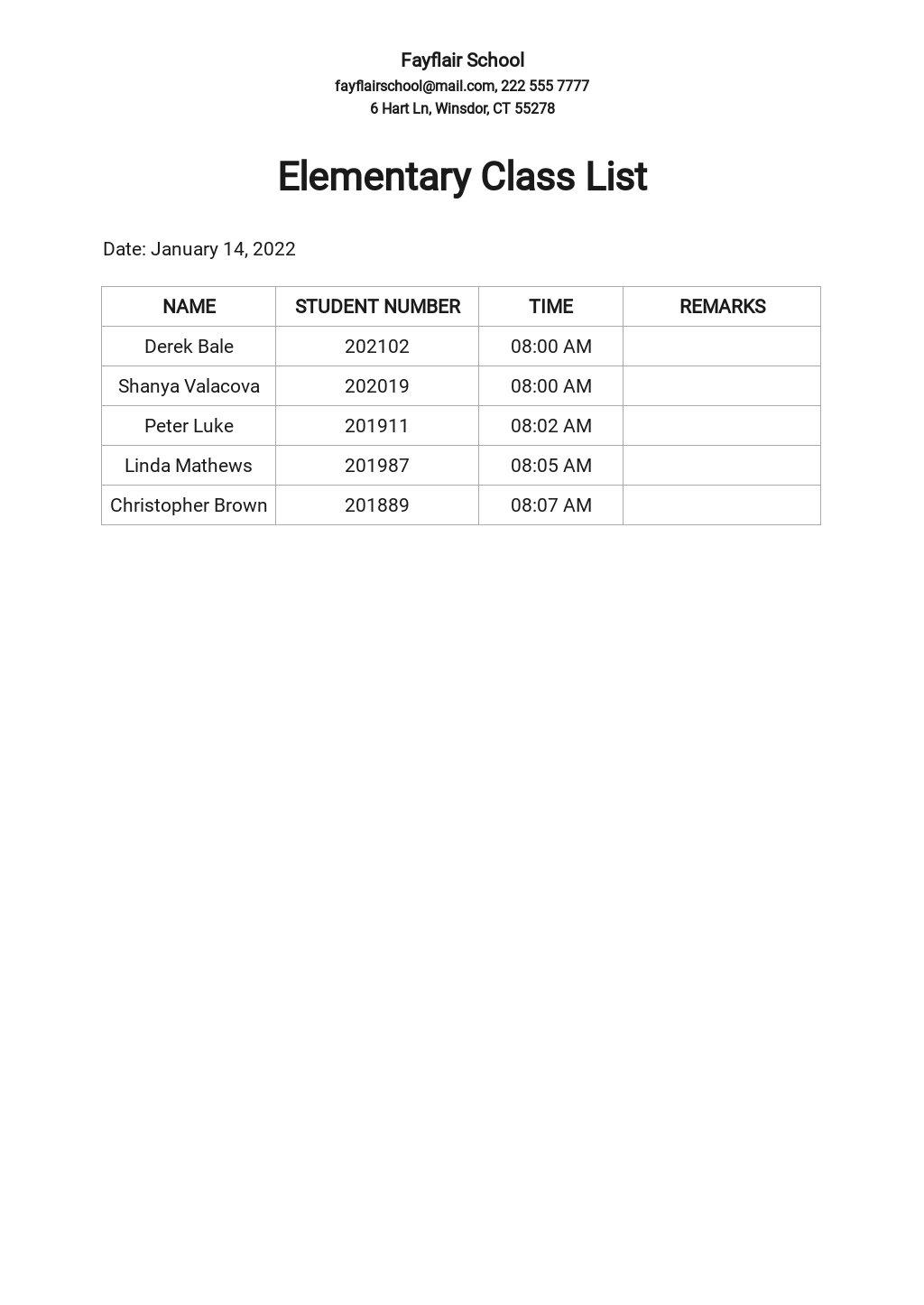 Elementary Class List Template.jpe