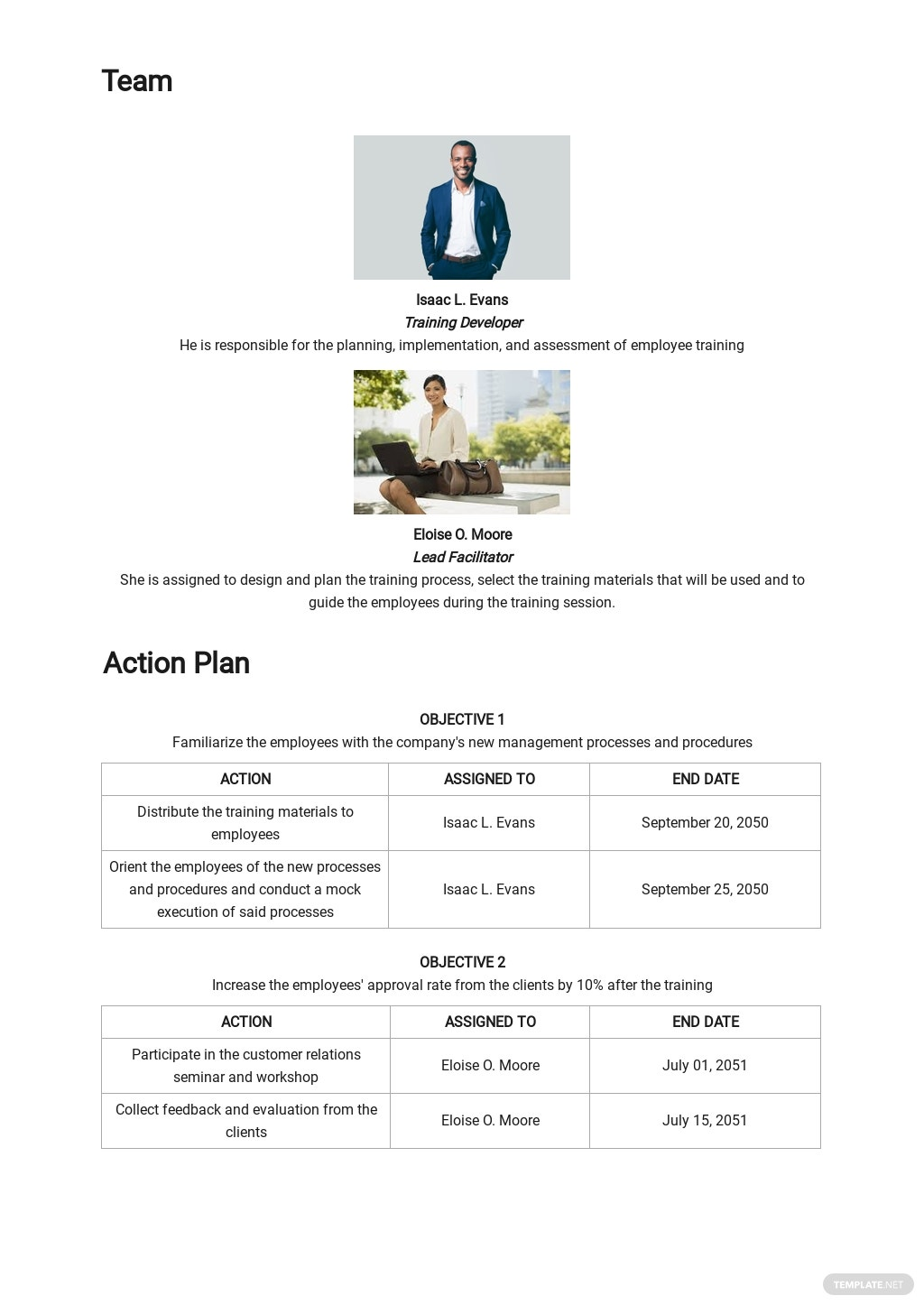Sample Training Project Plan Template 2.jpe