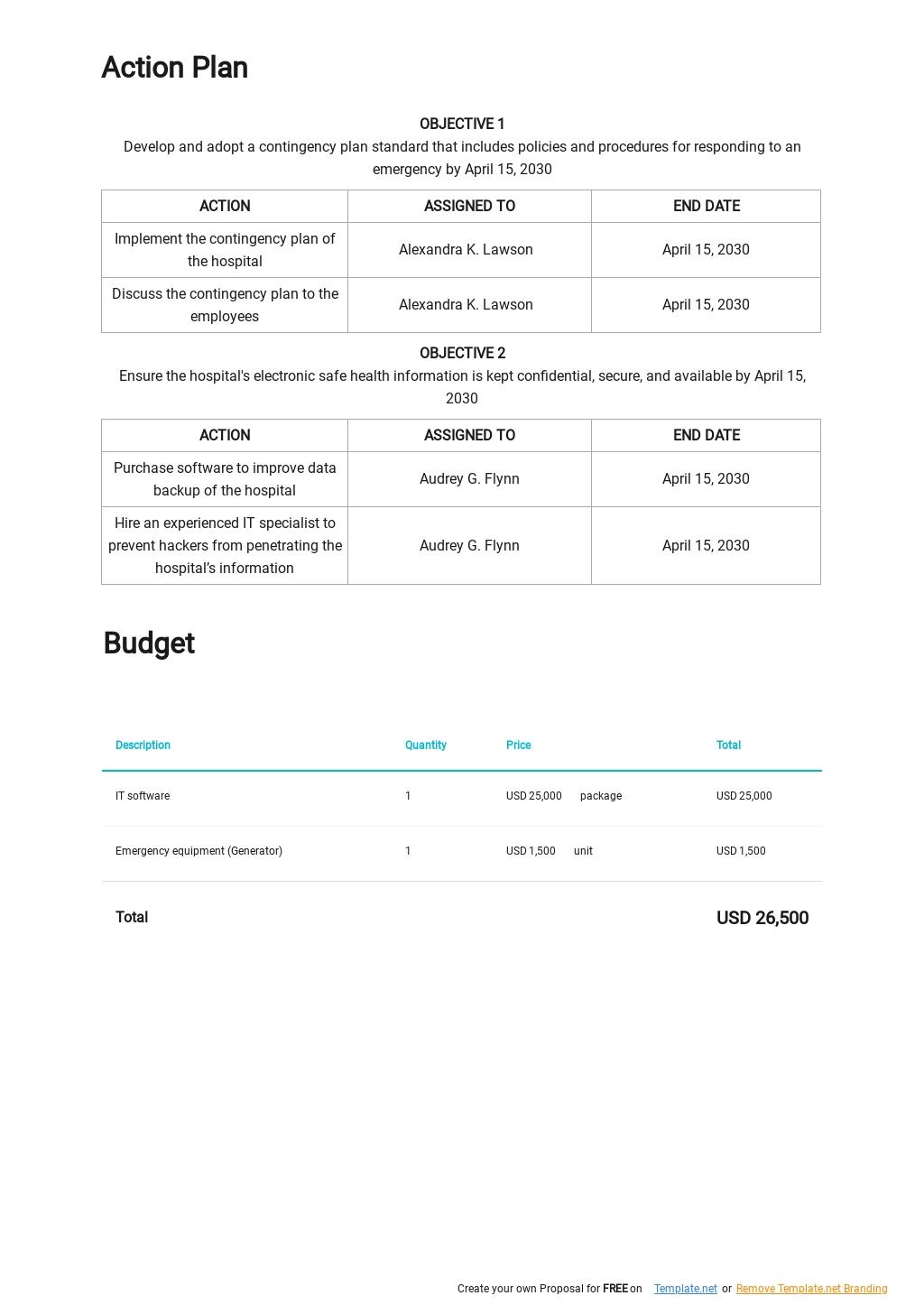 Medical Practice Contingency Plan Template 2.jpe