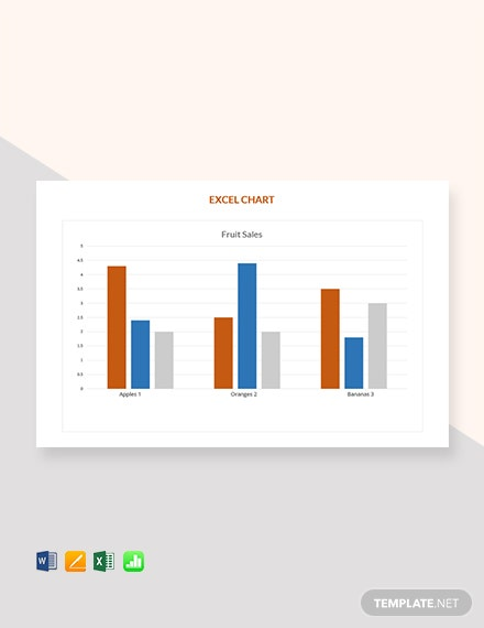 Free Sales Excel Chart Template