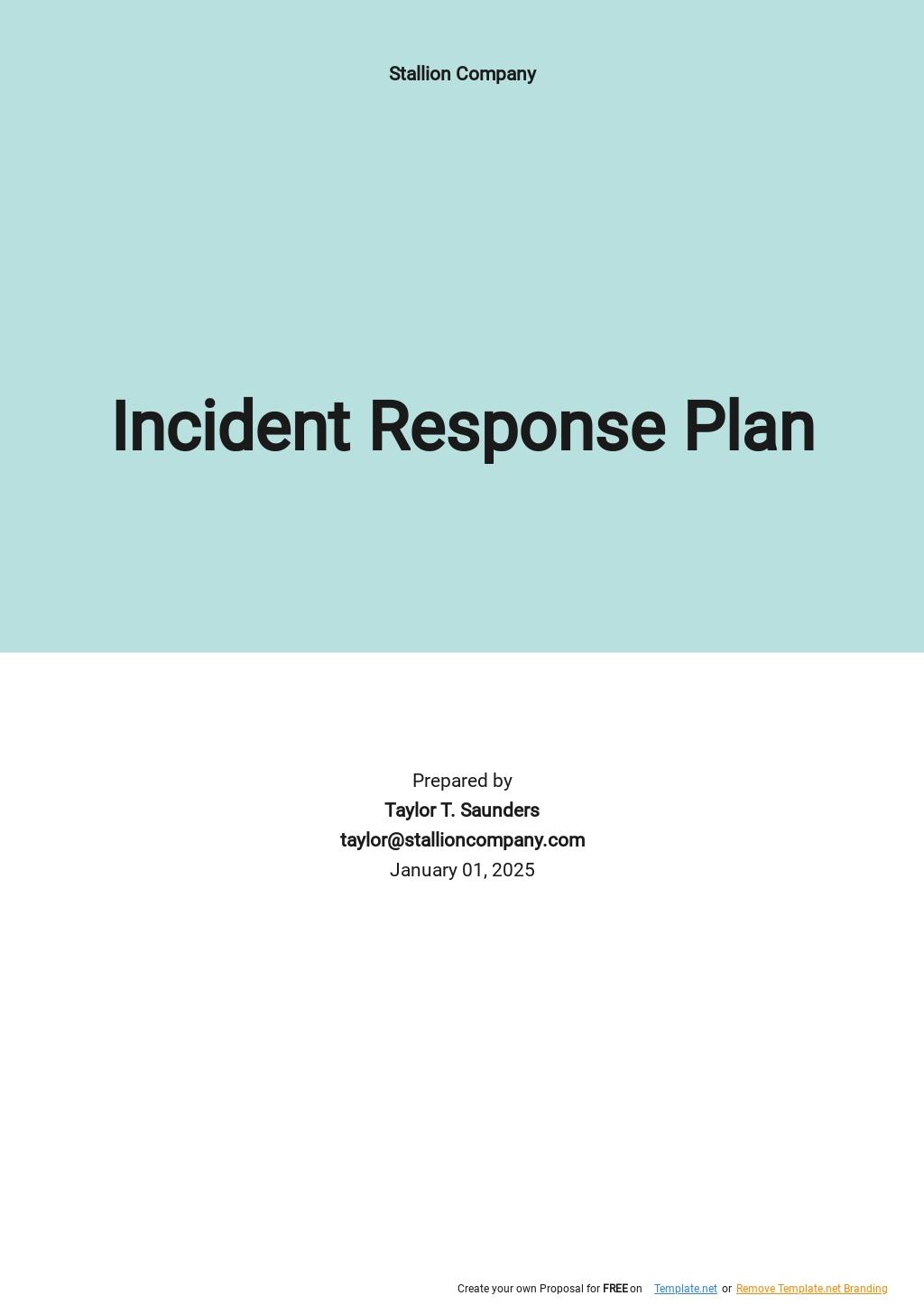 Simple Incident Response Plan Template.jpe
