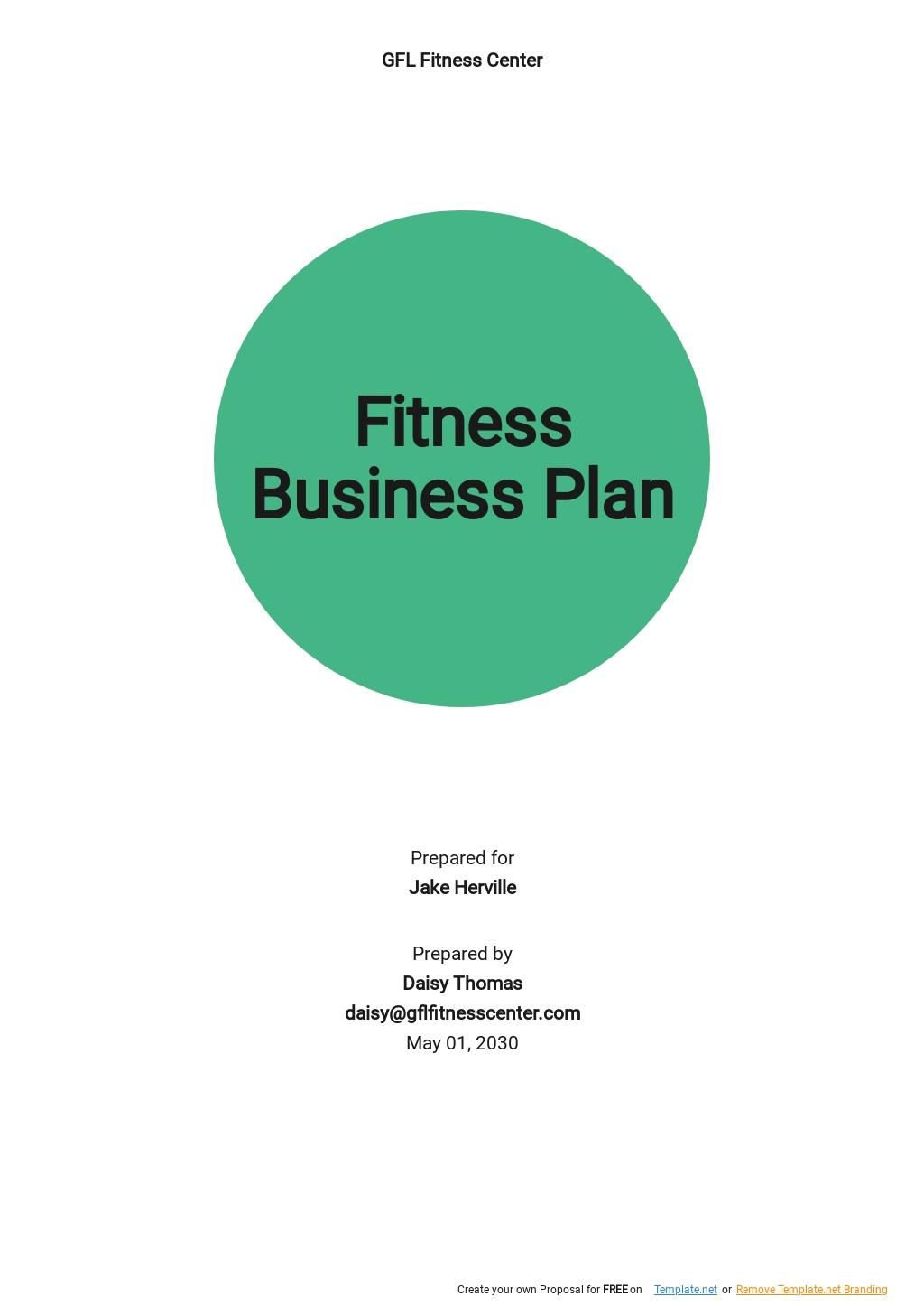 Fitness Business Plan Template.jpe