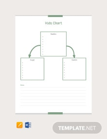 Kid's Chart Template