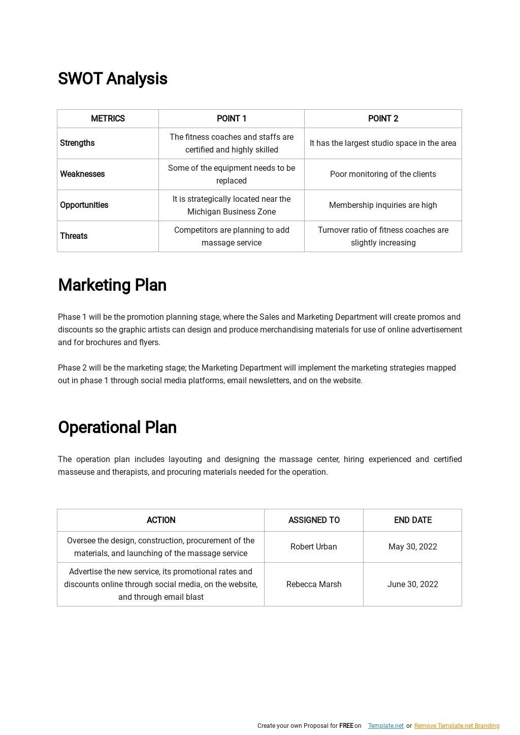 Fitness Studio Business Plan Template 2.jpe