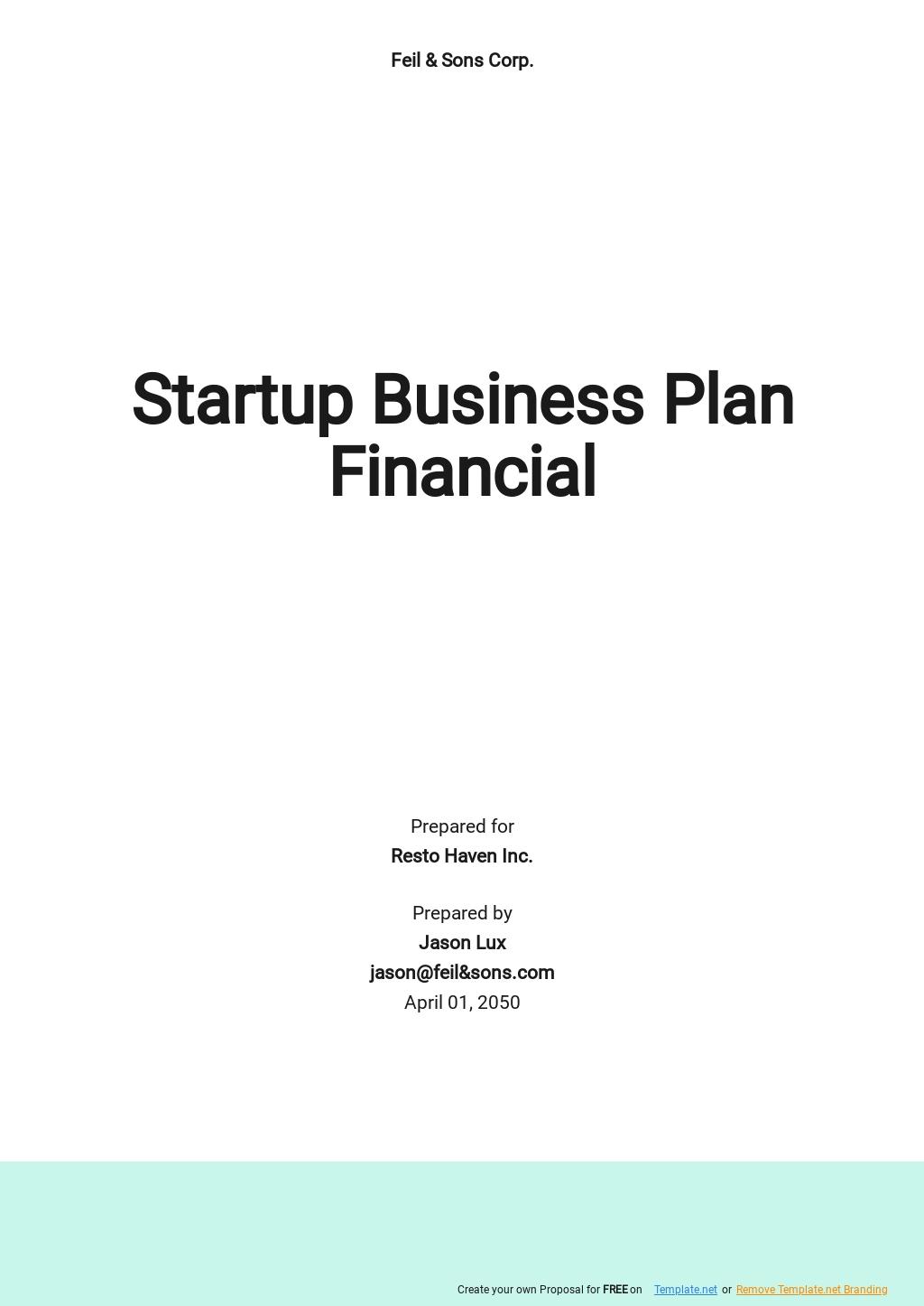 Startup Business Plan Financial Template.jpe