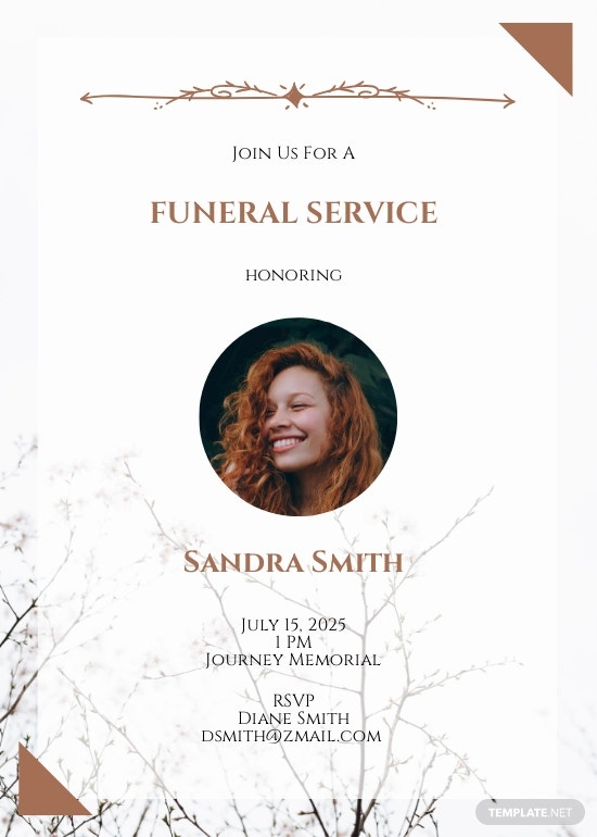 Simple Email Funeral Invitation Template.jpe