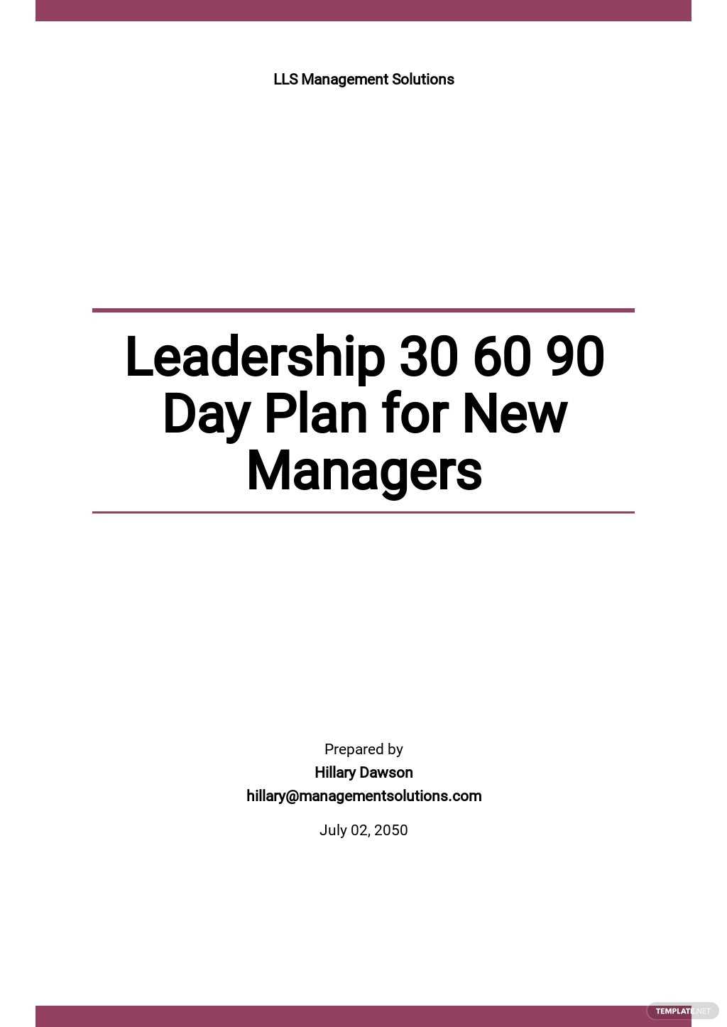 Leadership 30 60 90 Day Plan Template for New Managers.jpe