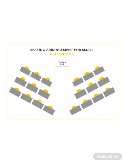 Seating Arrangements for Small Classrooms Template