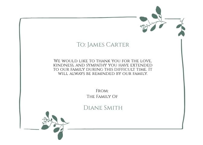 Blank Sympathy Funeral Card Template.jpe