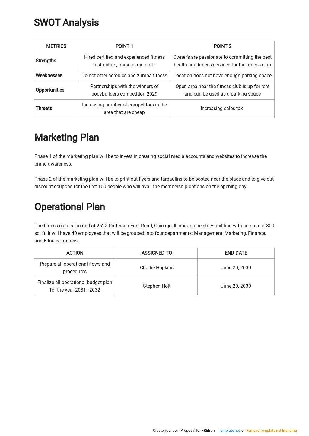 Fitness Club Business Plan Template 2.jpe