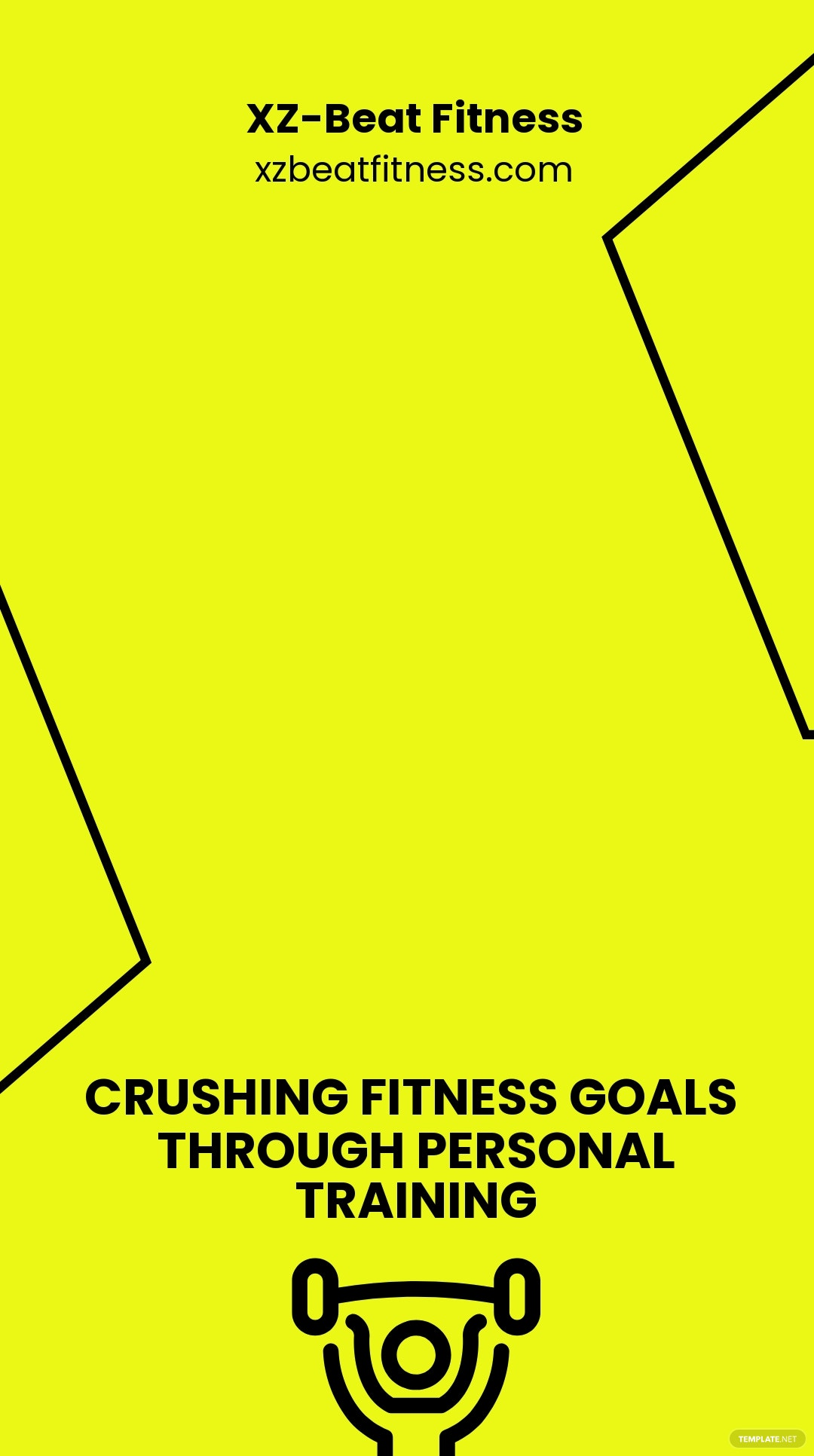 Personal Training Snapchat Geofilter Template.jpe
