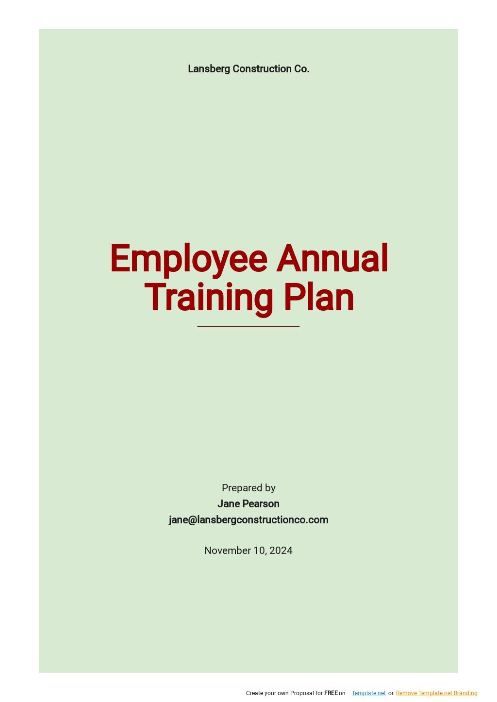 Employee Annual Training Plan Template.jpe