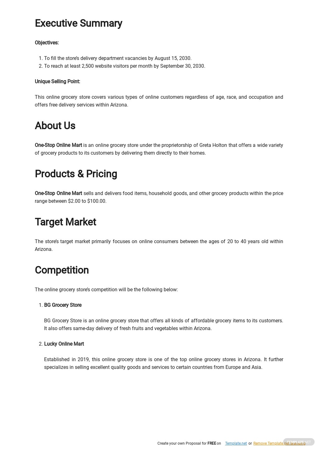 Online Grocery Store Business Plan Template 1.jpe
