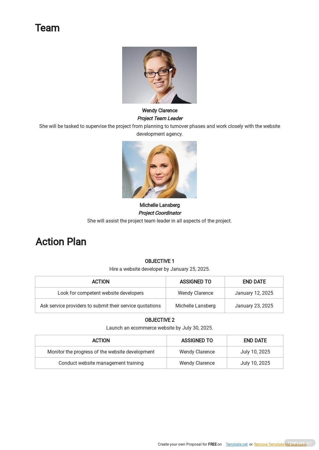 Online Store Project Plan Template 2.jpe