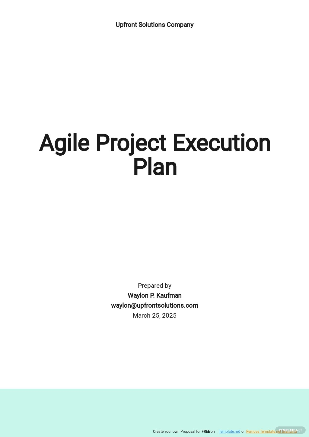 Agile Project Execution Plan Template.jpe