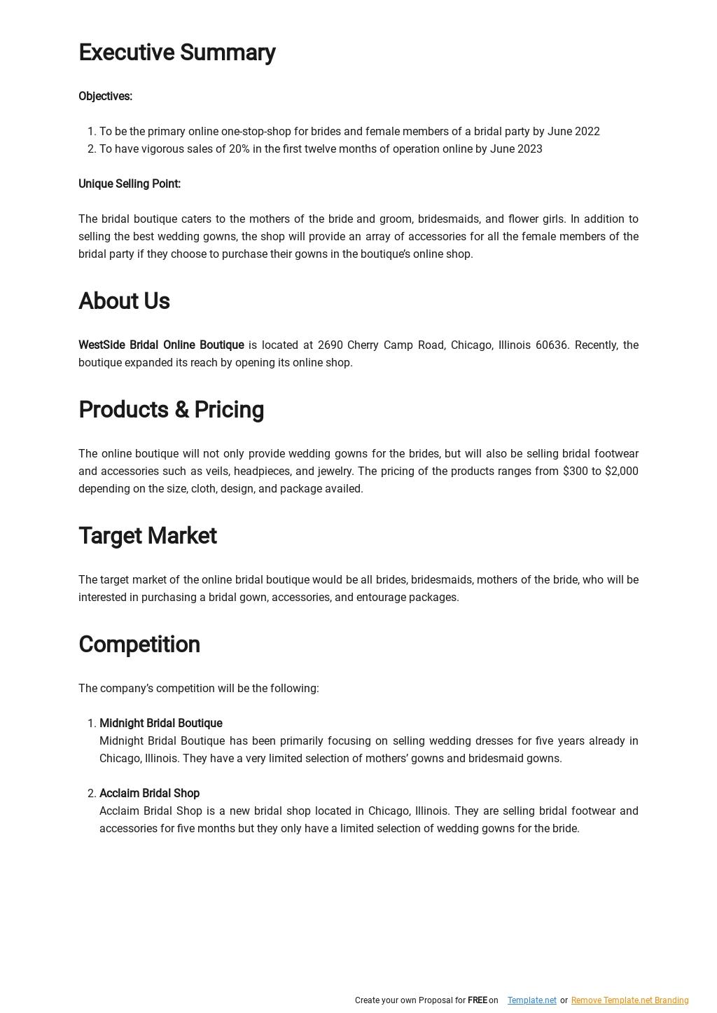 Online Boutique Business Plan Template 1.jpe