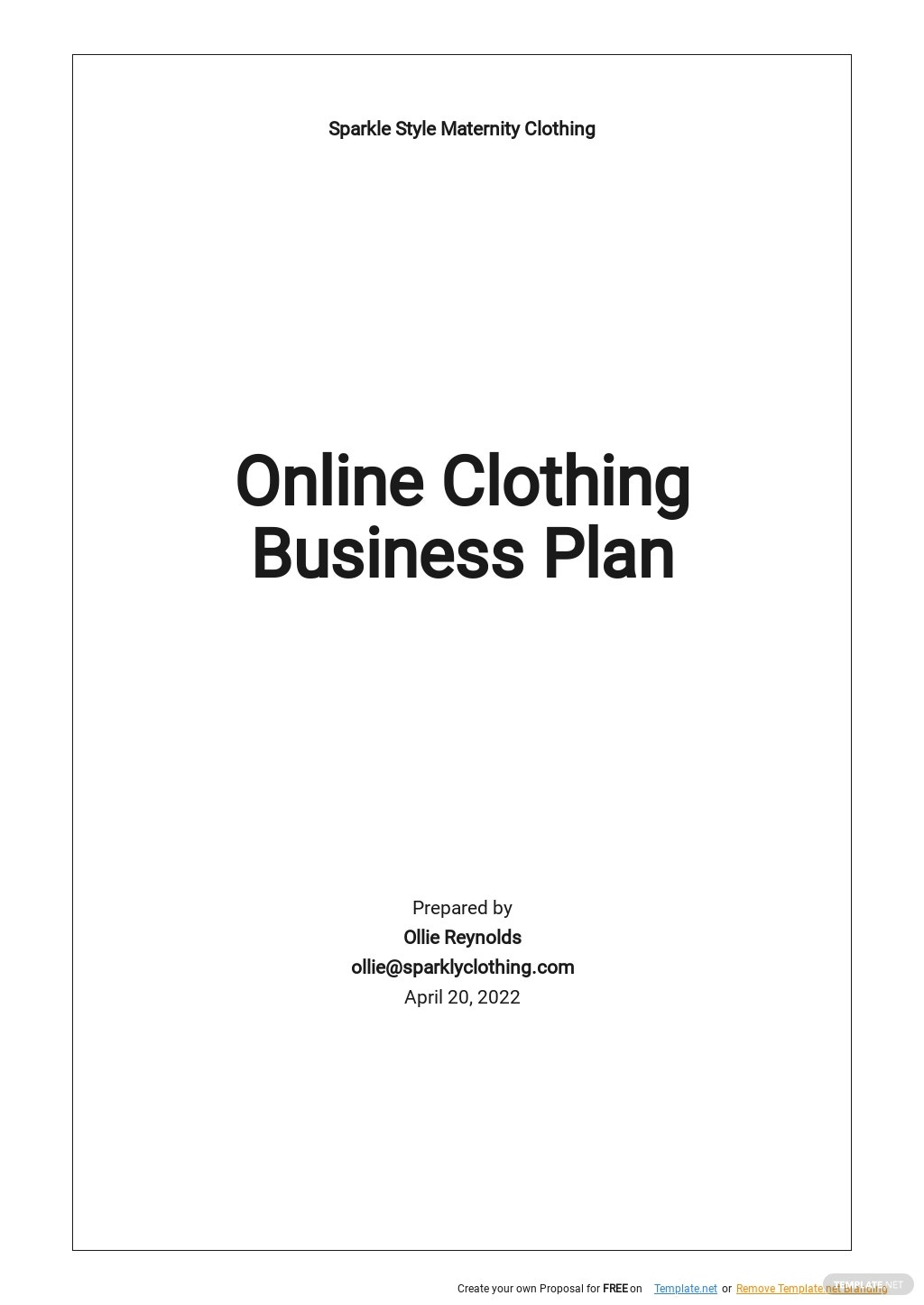 Online Clothing Business Plan Template.jpe