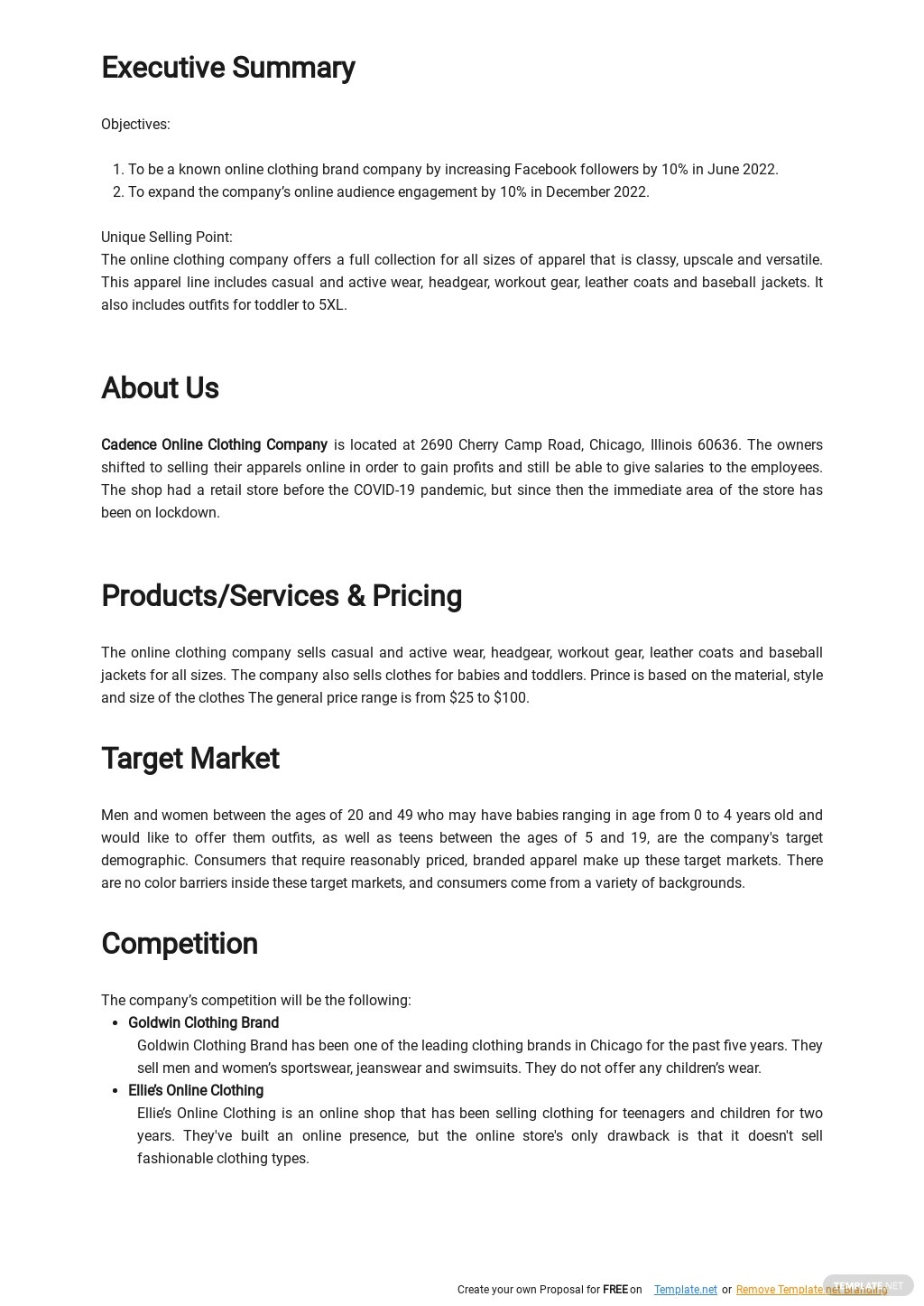 Online Clothing Brand Business Plan Template 1.jpe