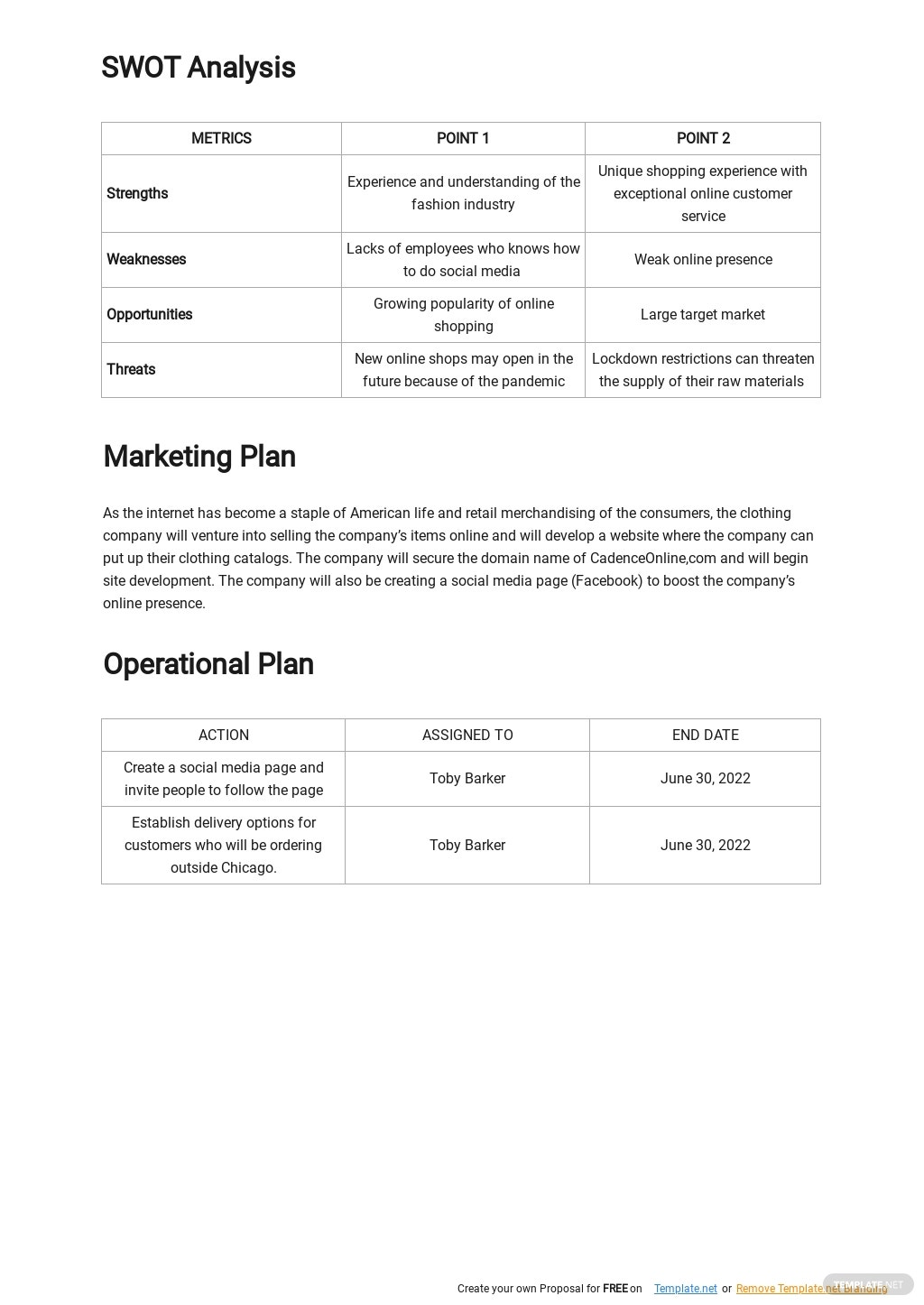 Online Clothing Brand Business Plan Template 2.jpe