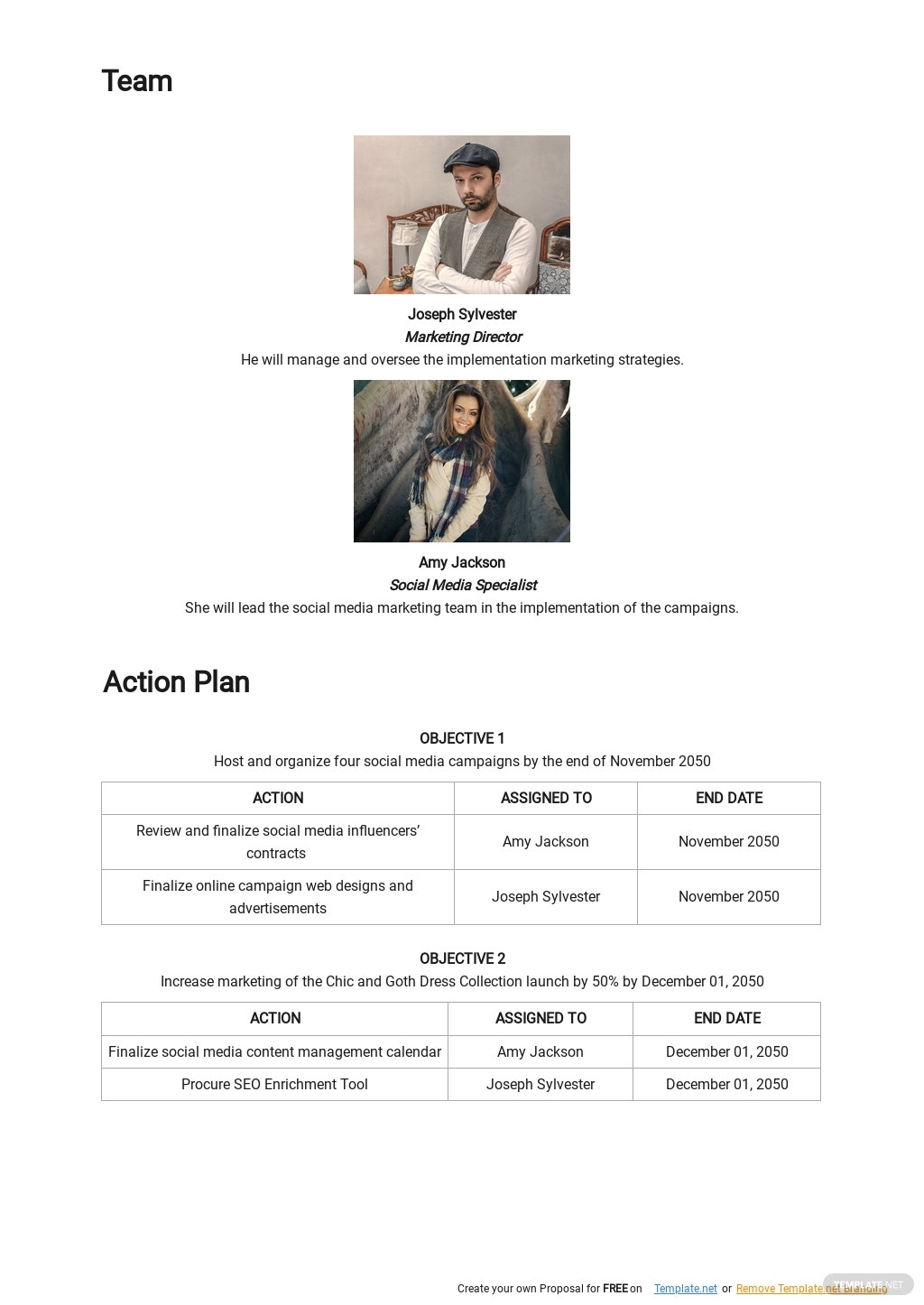 Online Store Marketing Plan Template 2.jpe